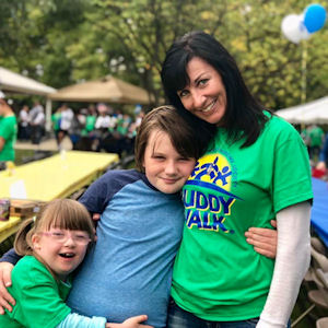 Down Syndrome Support Team Buddy Walk